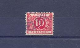 Nr. TX13A Met Naamstempel ?UES?ES - Briefmarken