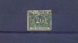 Nr. TX14A Met Naamstempel ANVERS - Postage Due
