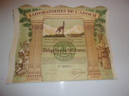 LABORATOIRES DE L'ADOUR (séméac,hautes Pyrénées) - Unclassified
