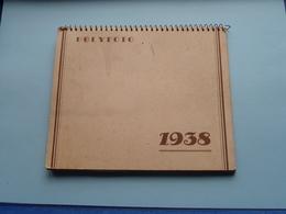 1938 > Album POLYFOTO Kind > Enfant > 12 Different Photo / Par Mois ( 16,5 X 14 Format D'Album ) ! - Albums & Collections