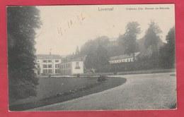 Loverval - Château Cte Werner De Mérode - 1902  (voir Verso ) - Gerpinnes