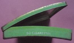 Londres ABDULLA Imperial Preference Boite Convexe Pour 50 Cigarettes Tin Box Case London Abdulla & Co Ltd - Boites à Tabac Vides