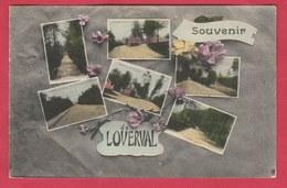 Loverval - Souvenir De ... - Carte Multivues -1919 (voir Verso ) - Gerpinnes