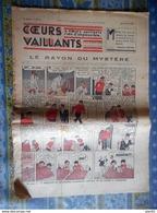 COEURS VAILLANTS 1936 N° 8 LE RAYON DU MYSTERE TINTIN ET MILOU AU MOYEN ORIENT HERGE - Tintin