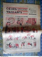 COEURS VAILLANTS 1936 N° 9 LE RAYON DU MYSTERE TINTIN ET MILOU AU MOYEN ORIENT HERGE - Tintin