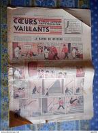 COEURS VAILLANTS 1936 N° 10 LE RAYON DU MYSTERE TINTIN ET MILOU AU MOYEN ORIENT HERGE - Tintin