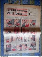 COEURS VAILLANTS 1936 N° 11 LE RAYON DU MYSTERE TINTIN ET MILOU AU MOYEN ORIENT HERGE - Tintin