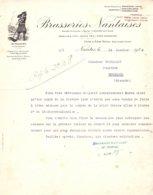 "BRASSERIES NANTAISES    Illustration ""Le Paludier""  NANTES - 1900 – 1949"
