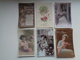 Beau Lot De 20 Cartes Postales De Fantaisie Sainte Catherine   Mooi Lot 20 Postkaarten Van Fantasie   -  20 Scans - Postkaarten