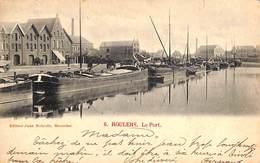 Roeselare Roulers - Le Port (Edit. Jules Nahrath, Péniches 1901) - Röselare