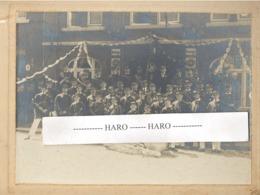 """Photo Sur Carton (Format: +/- A4 ) ROCHEFORT - Harmonie - Café, Salle - Bières """" IMPERIAL """"  ( B270) - Luoghi"""