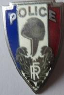 INSIGNE CASQUETTE POLICE (ancien) - Police
