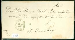 POSTHISTORIE * VOORLOPER * BRIEFOMSLAG Van NYMEGEN Naar 's KONINGS DOMEINEN  Te 's-GRAVENHAGE   (11.639) - ...-1852 Vorläufer