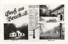 AK - NÖ - Gruss Aus BRUCK A/d Leitha - Kantine - Baracken - Harrach Schloss 1950 - Bruck An Der Leitha