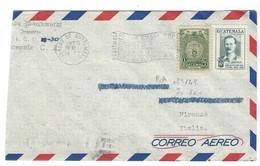 Covers Correo Aero Guatemala - Firenze - Italia - 1955 - Guatemala