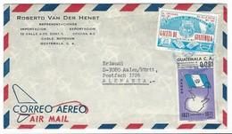Covers Correo Aero Guatemala - P.O. BOX 1226 - Alemagne. - Guatemala