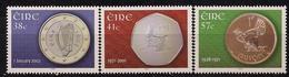 2002 Irland Eire Mi. 1403-5 **MNH   Einführung Der Euro-Münzen Und -Banknoten. - Europese Gedachte