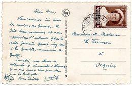 N° 913 - Croix-Rouge - Princesse Joséphine-Charlotte Sur CV De Barvaux Vers Ocquier - Cartas
