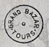 """Très Rare CPA Grand Bazar De TOURS N° 514 """"Coquetterie"""" ...complétez Votre Collection... * 37 Femme - Tours"""
