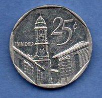Cuba  - 25 Centavos 1994 -  Km # 577.1 -  état  SUP - Cuba