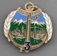 3e Rima - Bat Inf  4  Sarajevo- Insigne émaillé Ségalen - Armée De Terre