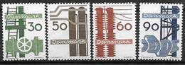 Danemark 1968 N° 481/484 Neufs** Industrie - Danimarca