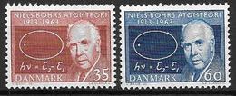 Danemark 1963 N° 429/430 Neufs** Prof. Niels Bohr Prix Nobel - Danimarca