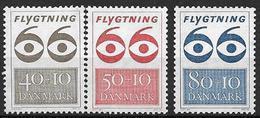 Danemark 1966 N° 452/454 Neufs** Surtaxe Pour Les Réfugiés - Danimarca