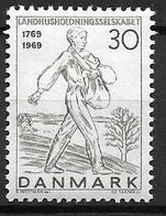 Danemark 1969 N° 485 Neuf** Société Royale D'agriculture - Danimarca