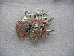 Pin's Sapeurs Pompiers BALLARD, Pompe à Vapeur De 1888 - Bomberos
