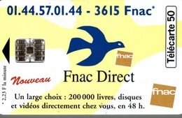 TELECARTE 50 UNITES FNAC DIRECT - Werbung