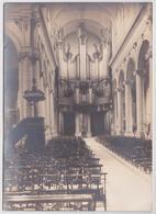 Photographie Ancienne Grandes Orgues Orgue à Identifier Organ Pipe - Orte