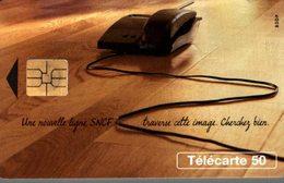 TELECARTE 50 UNITES UNE NOUVELLE LIGNE  SNCF - Werbung