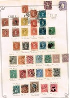 Chili. Ancienne Collection. Old Collection Altsammlung Oude Verzameling - Sammlungen (ohne Album)