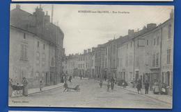 ROSIERES-aux-SALINES    Rue Gambetta        Animées   écrite En 1917 - Francia