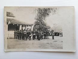 Foto Ak Musique Musiciens Colonial Kolonial Soldats Soldaten - Uniforms