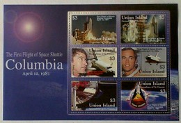 1981 Un.Island Columbia .... Sheet - Sellos