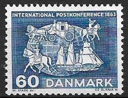 Danemark 1963 N° 427 Neuf** Conférence Postale Internationale - Danimarca