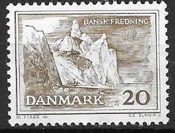 Danemark 1962 N° 416 Neuf** Sauvegarde Des Sites Naturels - Danimarca