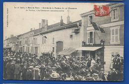 MARS-LA-TOUR   16 Août   Fanfare Du 19° Chasseurs     Animées   écrite En 1910 - Francia