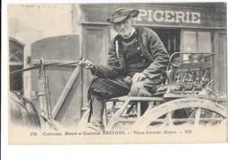 Coutumes, Moeurs Et Costumes Bretons - Vieux Fermier Breton - édit. ND Neurdein 136 + Verso - Francia