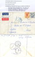 LETTRE BONDI TàD 18 AP 64 SYDNEY AUSTRALIA SPECIAL DELIVERY Pour Le PALAIS De L'ÉLYSÉE ACHEMINÉE Par PNEUMATIQUE 20-4-64 - Storia Postale