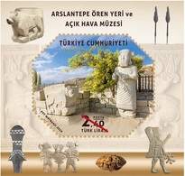 Turkey 2019, Arslantepe Archological Site, MNH Sheet - 1921-... Repubblica