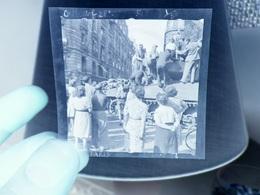 Negatif Photo Paris 1944 Libération    US Army - Lieux