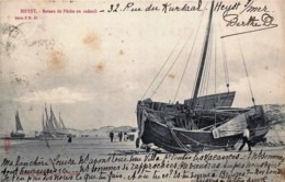 Belgique - Heyst - Edit. Sugg Série 3 N° 45 - Bateau De Pêche En Radoud - Heist