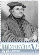 Ukraine 2018, Protestant Reformation, Martin Luther, 1v - Ukraine