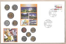 Germania - Busta FDC Con Annullo Speciale E Monete Dei Nuovi Stati Aderenti Alla UE - 2004 - Monete