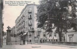 Belgique - Grand Hôtel De Laeken-Spa - Entrée Du Jardin Du Casino Et De L' Etablissement Thermal - Spa