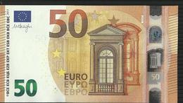 50 EURO ITALIE-ITALY S030 F5 CH 37 UNC DRAGHI - 50 Euro