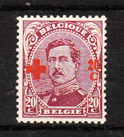 155*  Croix-Rouge - Bonne Valeur - MH* - LOOK!!!! - 1918 Croix-Rouge